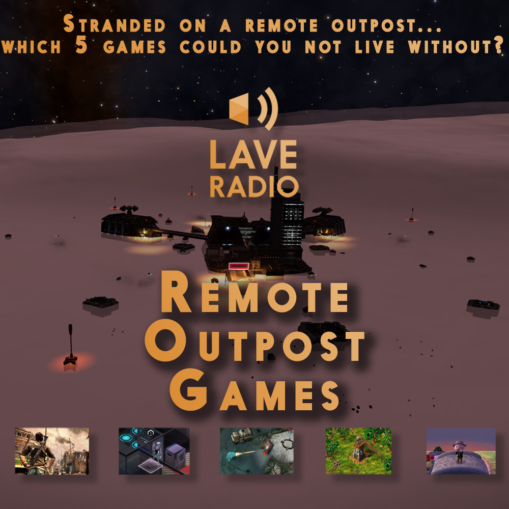 Cover for Episode 1 of Lave Radio Remote Outpost Games